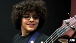 School of Rock student, Branden Mijares