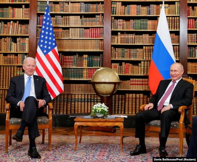 拜登和普京首脑会谈 白宫称不会取得大把成果
