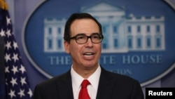 Steve Mnuchin, Treasury Secretary. (File)