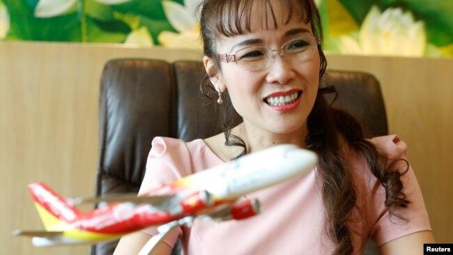 Giám đốc Điều hành Vietjet, bà Nguyễn Thị Phương Thảo.