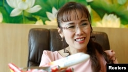 Bà Nguyễn Thị Phương Thảo, CEO của VietJet Air, nữ tỷ phú đầu tiên của Việt Nam.