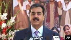 巴基斯坦總理吉拉尼(資料圖片)