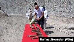 Diyarbakır'da bulunan gizli Osmanlı cephaneliği