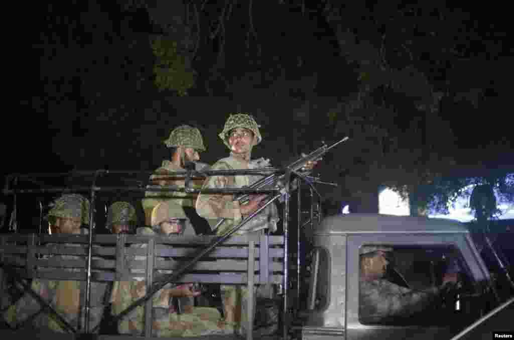 سکیورٹی فورسز کی جانب سے پانچ گھنٹے سے زائد جاری رہنے والے آپریشن کے بعد حملہ آوروں کو ہلاک کیا گیا۔