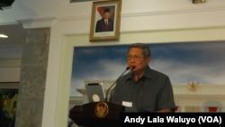 Mantan Presiden Indonesia Susilo Bambang Yudhoyono