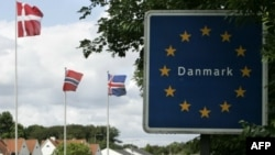 Датская граница. Снимок был сделан весной 2011 года.