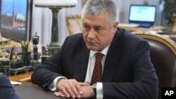 Министр внутренних дел РФ Владимир Колокольцев (архивное фото)