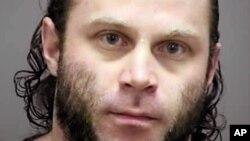 Foto Joshua Van Haften, 34, dari Madison, Wisconsin yang disediakan oleh Kantor Sheriff Rock County, Wisconsin pada tanggal 2 Februari 2014. Van Haften ditangkap pada tanggal 8 April 2015 di Bandara Internasional O'Hare di Chicago.