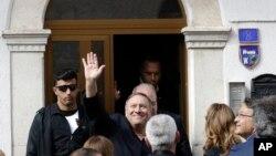 Američki državni sekretar Majk Pompeo tokom posete Italiji, 3. oktobar 2019.