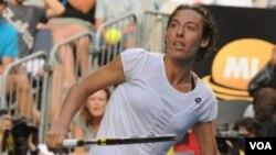 Bintang tenis Italia Francesca Schiavone.