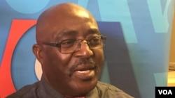 Belchior Lanzo Tati, secretário-geral da Frente Consensual Cabindesa