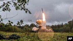 Raketni test u Rusiji (arhivski snimak)