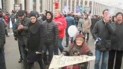 Сто тысяч москвичей потребовали честных выборов