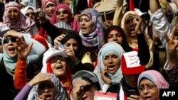 Phụ nữ Ai Cập đang đối mặt với việc bị gạt ra ngoài lề trong tiến trình chính trị.