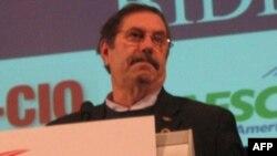 Ông Leo Gerard người đứng đầu công đoàn công nhân Thép thống nhất