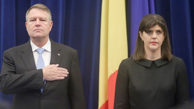 Romanian President Rejects Government Call to Sack Top Anti-Graft Prosecutor