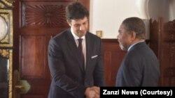 Jean Boustany mfanyabiashara wa Lebanon akutana na Rais Ali Mohameds Shein wa Zanzibar