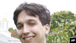 Student Dusan Vuksanovic at Green Mountain College