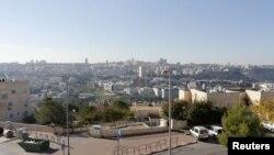 Suasana di Ramat Shlomo, sebuah permukiman Yahudi di Tepi Barat dan Yerusalem Timur (18/12). Kelompok E4 yang terdiri dari jerman, Inggris, Portugal dan Perancis tengah mempersiapkan pernyataan yang mengutuk pemukiman baru Israel di wilayah ini.