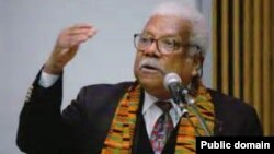 The late Professor Ali Mazrui
