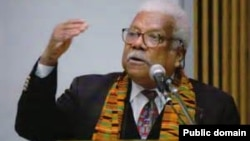 FILE - The late Professor Ali Mazrui.