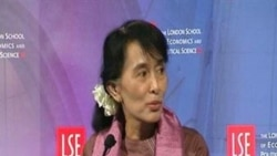 AUNG SAN SUU KYI LONDON