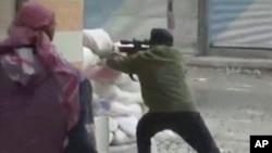 敘利亞反對派12月7日在大馬士革與政府武力對抗