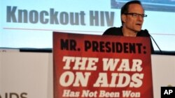 Международная конференция по СПИДу. Вашингтон. 24 июля 2012 г.