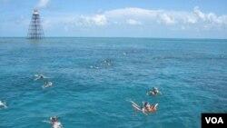 Hai chiếc phản lực chìm sâu dưới nước sẽ giúp cho ngành công nghiệp đánh cá và lặn dưới biển.
