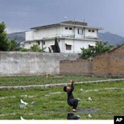 Osama bin Laden umrining oxiri besh yilini mana shu hovlida uch xotini va farzandlari bilan o'tkazgan