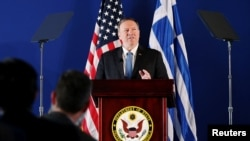 Pompeo in Greece
