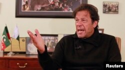 د پاکستان د تحریک انصاف گوند مشر امران خان