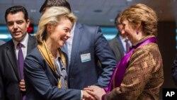 Lyuksemburgda Yevropa Ittifoqiga a'zo davlatlar mudofaa vazirlari uchrashmoqda, 15-aprel, 2014-yil