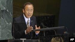 ເລຂາທິການໃຫຍ່ອົງການສະຫະປະຊາຊາດທ່ານ Ban Ki Moon