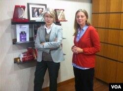 Emine Ülker Tarhan, muhabirimiz Yıldız Yazıcıoğlu'yla