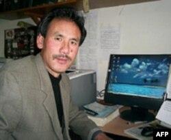 西藏流亡政府议员格桑坚赞(资料照片)