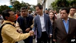 El presidente de la Asamblea Nacional en Venezuela, Juan Guaidó, dijo estar dispuesto a asumir una presidencia interina, pero con el apoyo de la fuerza armada, la comunidad internacional y el pueblo para convocar a nuevas elecciones presidenciales.