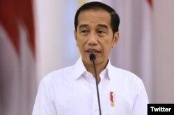 Presiden Joko Widodo di Istana Merdeka, Jakarta, 18 Maret 2020. (Foto: Twitter/@jokowi)