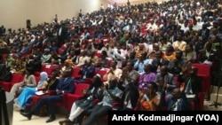 Vue de la jeunesse lors du forum Tchad numérique N'Djamena. (Photo archive/VOA/André Kodmadjingar).