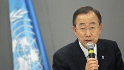 انتخاب دوباره بان کی مون به سمت دبیرکلی سازمان ملل متحد