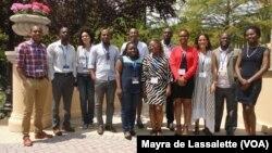 Yali Fellows - Jovens líderes dos países africanos de expressão portuguesa que participaram no programa Yali 2014 nos EUA.