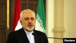 모함마드 자바드 자리프 이란 외무장관. (자료사진)