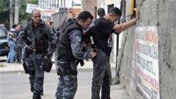 پلیس برزیل کنترل یک زاغه نشین را در ریودو ژانیرو، در دست گرفت
