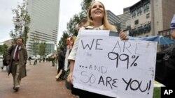 反华尔街活动开始蔓延,10月3号波士顿也举行抗议活动