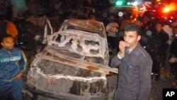 12月24日﹐埃及一個警察局發生一次猛烈爆炸,造成至少13人死亡,1百多人受傷。