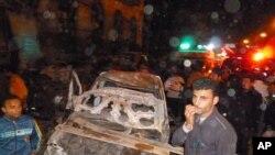 محل انفجار در دلتای نیل