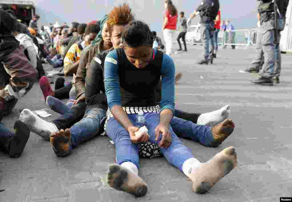اقوام متحدہ کی ایک تازہ رپورٹ کے مطابق رواں سال ایک لاکھ 37 ہزار تارکین وطن نے بحیرہ روم میں سفر کیا۔