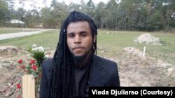 Trei Chambers, teman satu rumah sekaligus sahabat Dylan Sada.(Foto: Courtesy/Vieda Djuliarso)