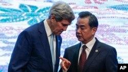 克里與王毅在東盟論壇會議期間會面