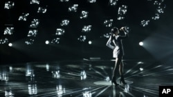Jessie J performs at the MTV Video Music Awards at The Forum, Aug. 24, 2014, in Inglewood, California.